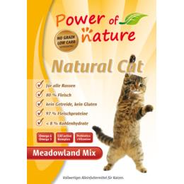 Natural Cat Meadowland Mix - 2kg
