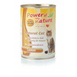 Power of Nature Natural Cat - jagnięcina  400 g
