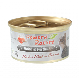 Power of Nature - Minkas kurczak z perliczką 85 g