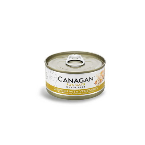 Canagan Cat Can - Chicken with Vegetebles 75 g
