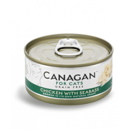 Canagan Cat Can - Chicken with Seabass 75 g