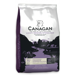 Canagan Cat Light Senior 4 kg