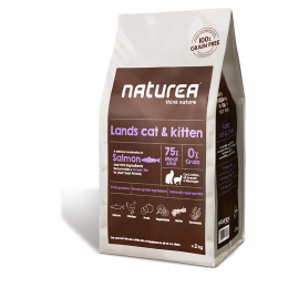 Naturea- LANDS CAT AND KITTEN 2 kg