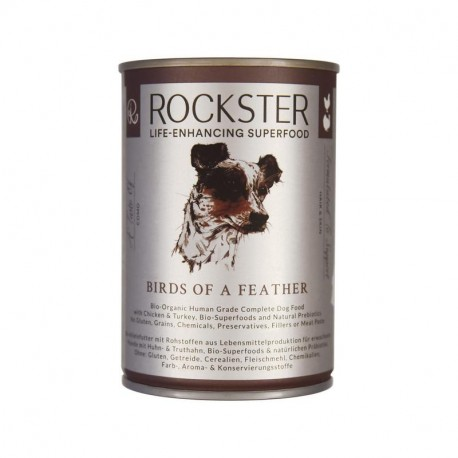 Rockster Birds Of A Feather - Kurczka Indyk 400g