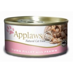 Applaws Cat Tuna Fillet & Prawn - puszka 70g