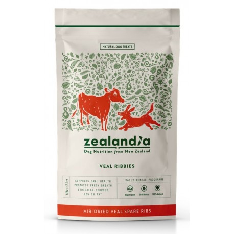 Zealandia Air-Dried Treats Cielęce Żeberka 150G