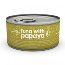 Naturea Cat - tuńczyk z papają 85 g